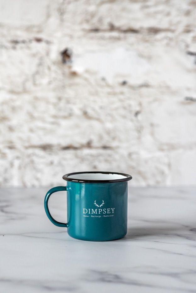 Dimpsey enamel glamping mugs